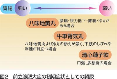 臨床の幅をひろげるKampo First Step 頻尿に使ってみよう 図2