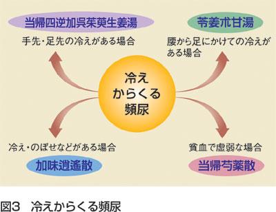 臨床の幅をひろげるKampo First Step 頻尿に使ってみよう 図3